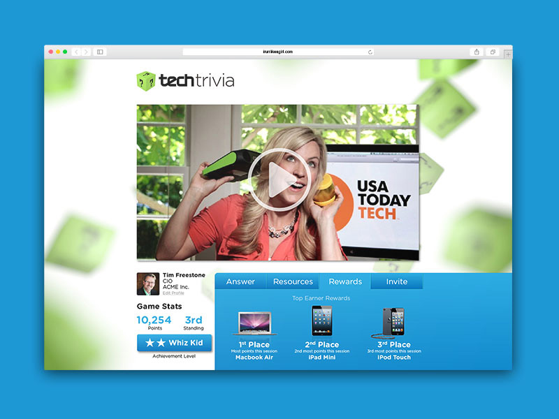 TechTrivia Website